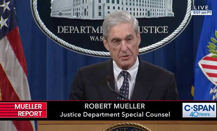 Mueller Reconfirms Russian Election Interference Campaign