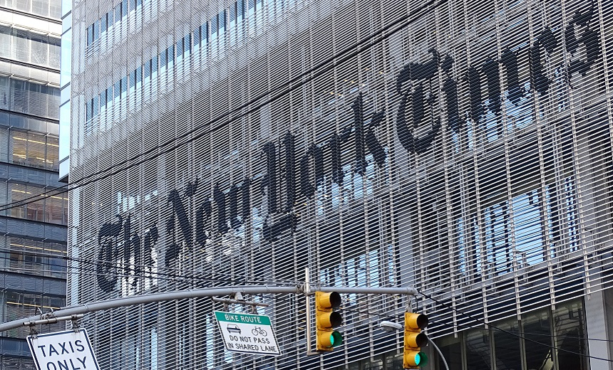 NY Times Reporter Targeted By Spyware: Report