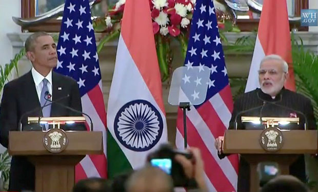 Obama's India Visit Covers Info Sharing