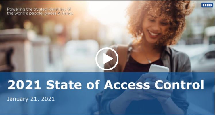 OnDemand Webinar: 2021 State of Physical Access Control