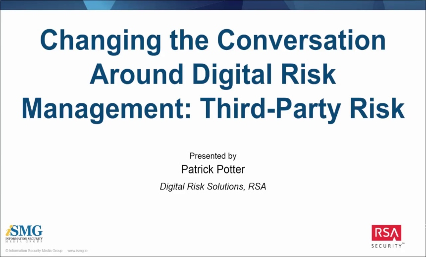 OnDemand Webinar | Changing the Conversation Around Third-Party Risk Management