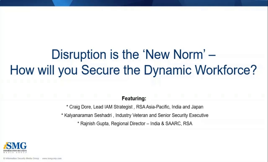 OnDemand Webinar | Disruption Is The 'New Norm'