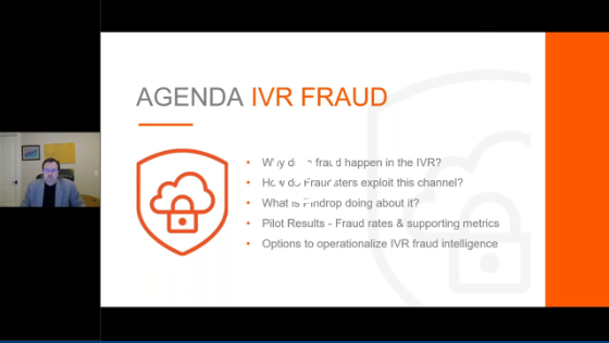 OnDemand Webinar | Fraud in the IVR