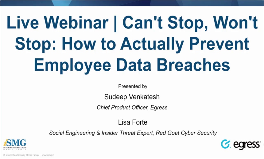 OnDemand Webinar | How to Mitigate Insider Data Breaches
