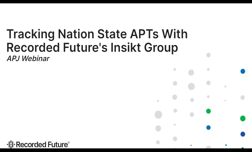 OnDemand Webinar: Tracking Nation State APTs