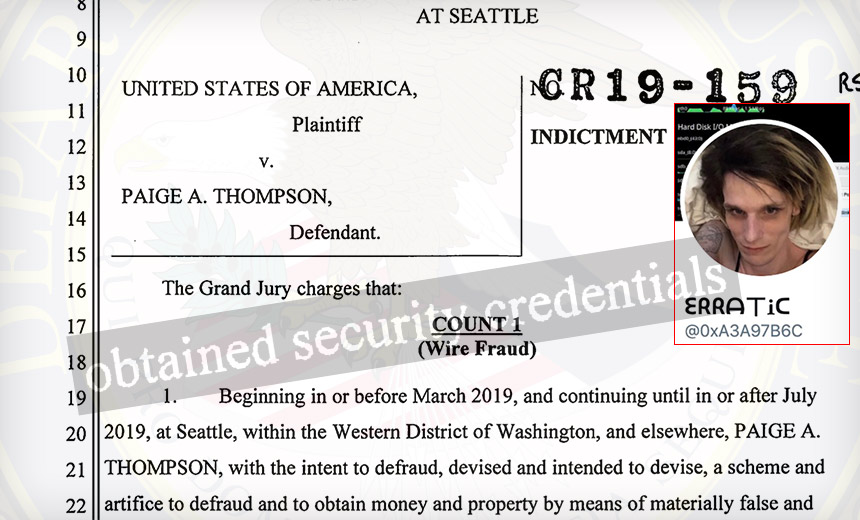 Paige Thompson Charged With Hacking 30 Organizations