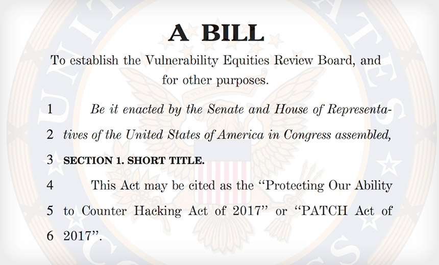 'PATCH Act' Aims to Help Prevent Cyberattacks
