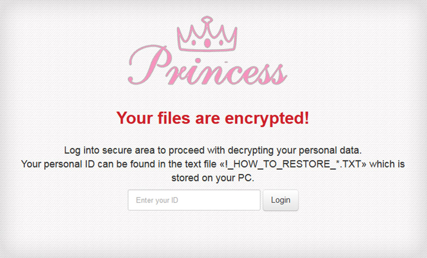 Princess Ransomware: Not So Pretty in Pink