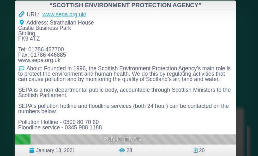 Ransomware Disrupts Scottish Environment Protection Agency