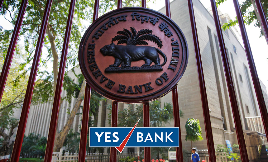 RBI Fines Yes Bank $1 Million for Tardy Breach Reporting