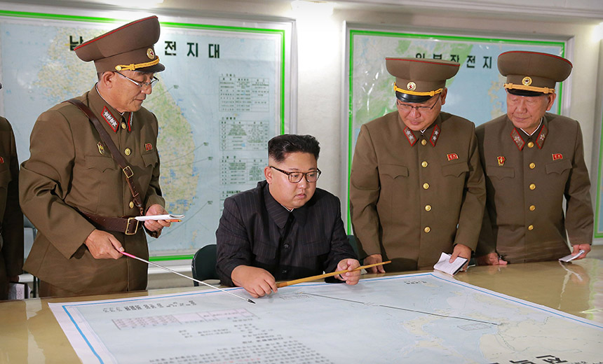 Report: North Korean Hackers Stole War Plans
