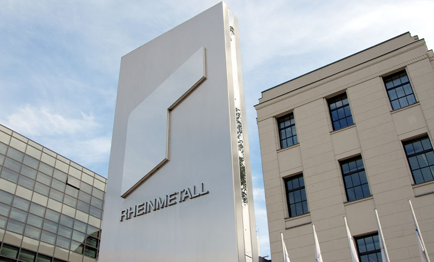 Rheinmetall Investigating Malware Attack at Three Plants
