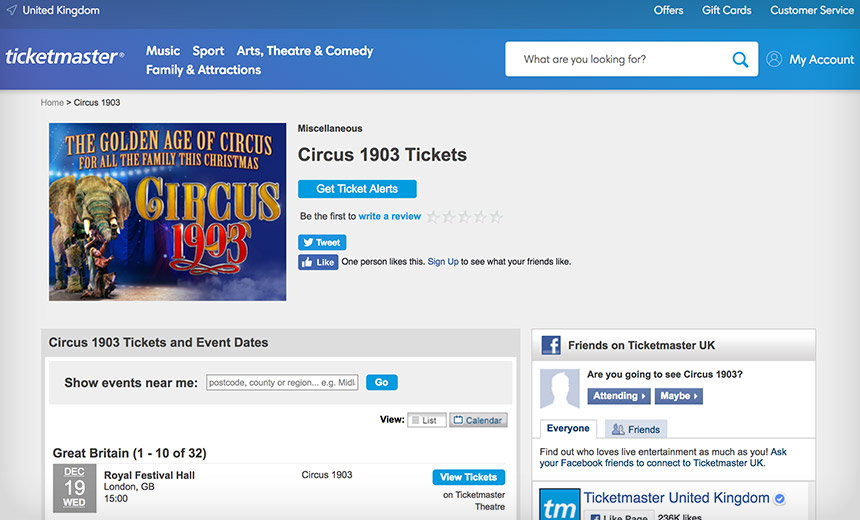 RiskIQ: Ticketmaster Hackers Compromised Widely Used Tools