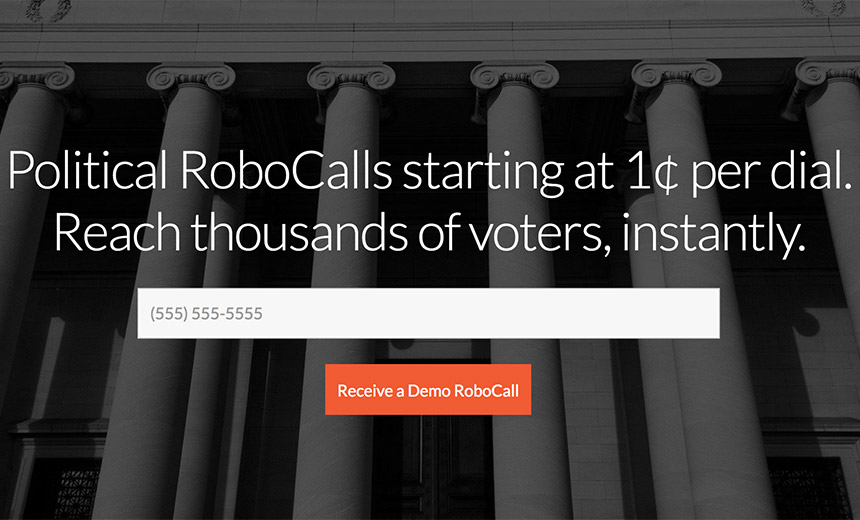Robocalling Firm Leaves Virginia Voter Data Online