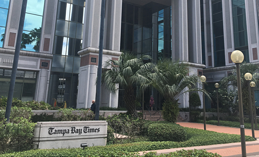 Ryuk's Latest Victim: Tampa Bay Times