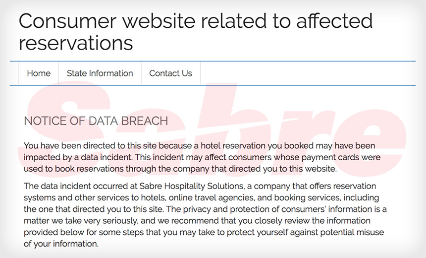 Sabre Says Stolen Credentials Led to Breach