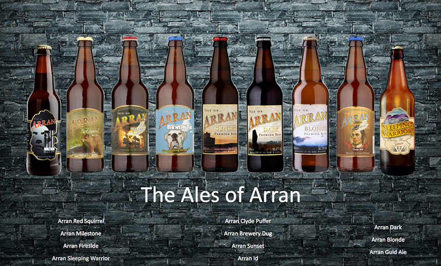 Scotland's Arran Brewery Slammed by Dharma Bip Ransomware