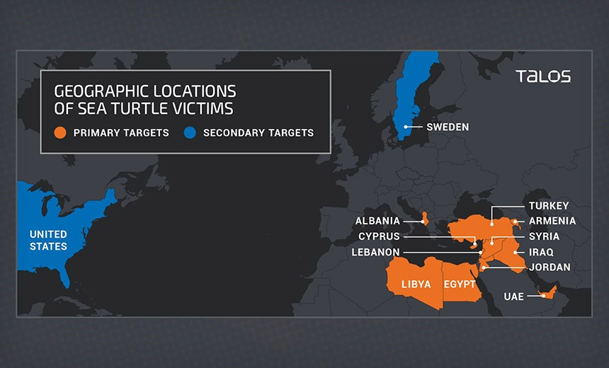 'Sea Turtle' DNS Hijacking Group Conducts Espionage: Report