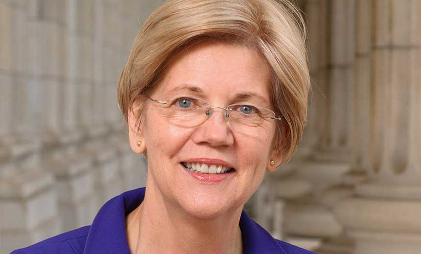 Sen. Warren Wants CEOs Jailed After Big Breaches