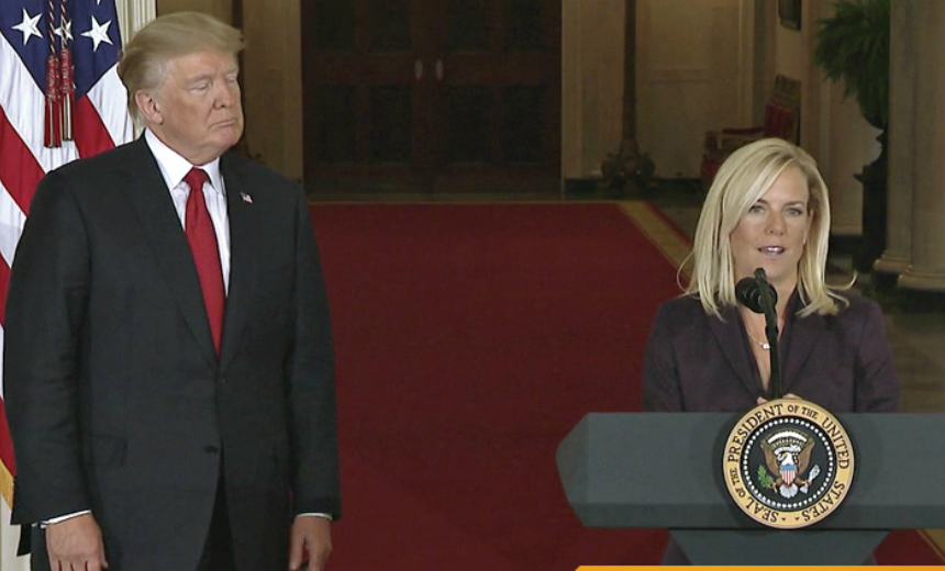 Senate Confirms Kirstjen Nielsen as DHS Secretary