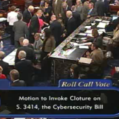 Senate Votes to Block Cybersecurity Act Action