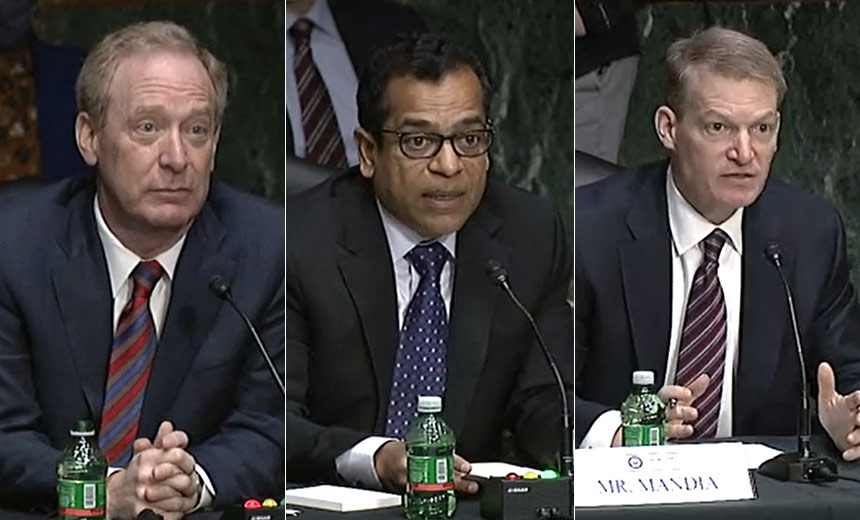 Senators Grill Cybersecurity Execs on SolarWinds Attack