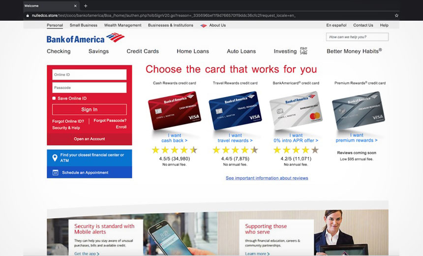 Separate Phishing Attacks Target Wells Fargo, BofA Customers