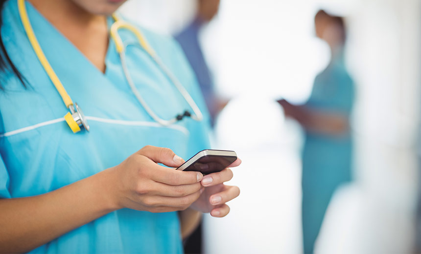 Should Staff Ever Use Personal Devices to Access Patient Data?