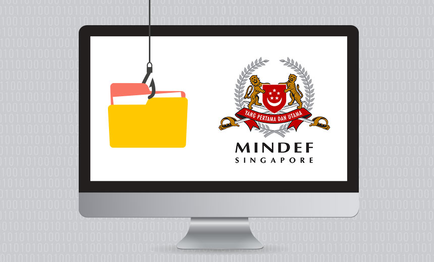 Singapore's Ministry of Defense Data Breached