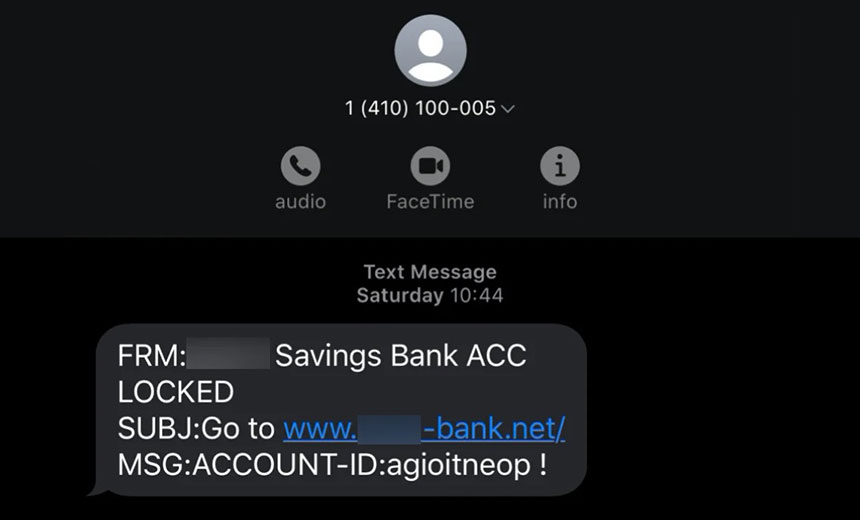 SMS Phishing Campaign Used to Spread Emotet: Report