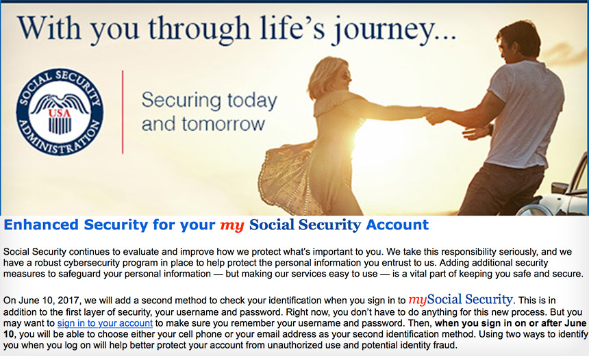 Social Security to Try Two-Factor Authentication Again