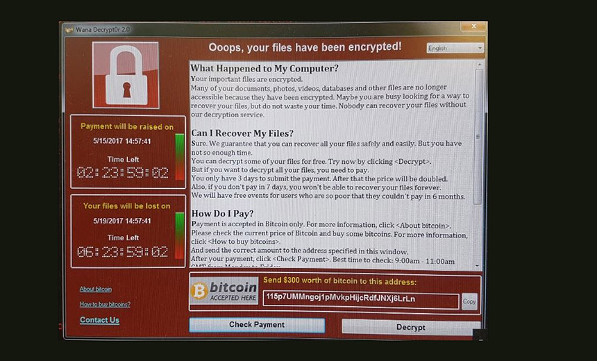 WannaCry Ransomware Outbreak Spreads Worldwide