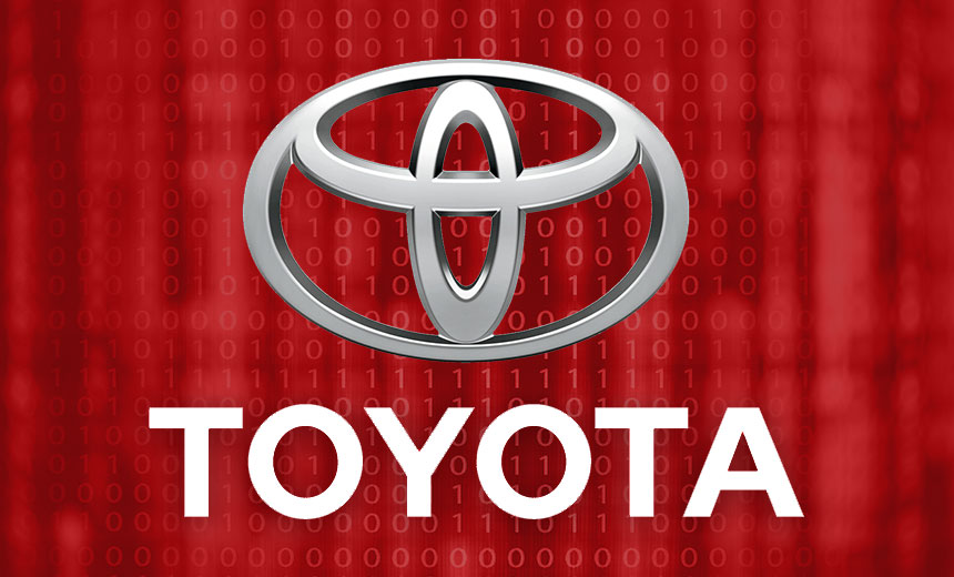 Toyota Reveals a Second Data Breach