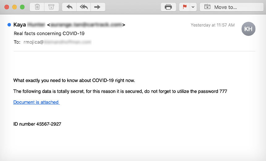 Trump's COVID-19 Illness Sparks Phishing Campaigns