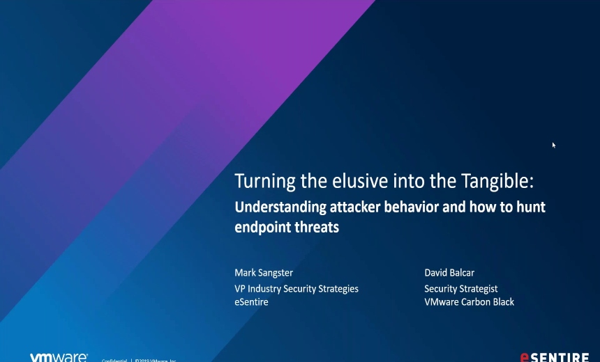 Turning the Elusive into the Tangible: Understanding Attacker Behavior and How to Hunt Endpoint Threats