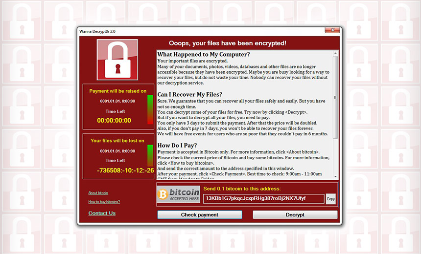 Ukraine Power Supplier Hit by WannaCry Lookalike