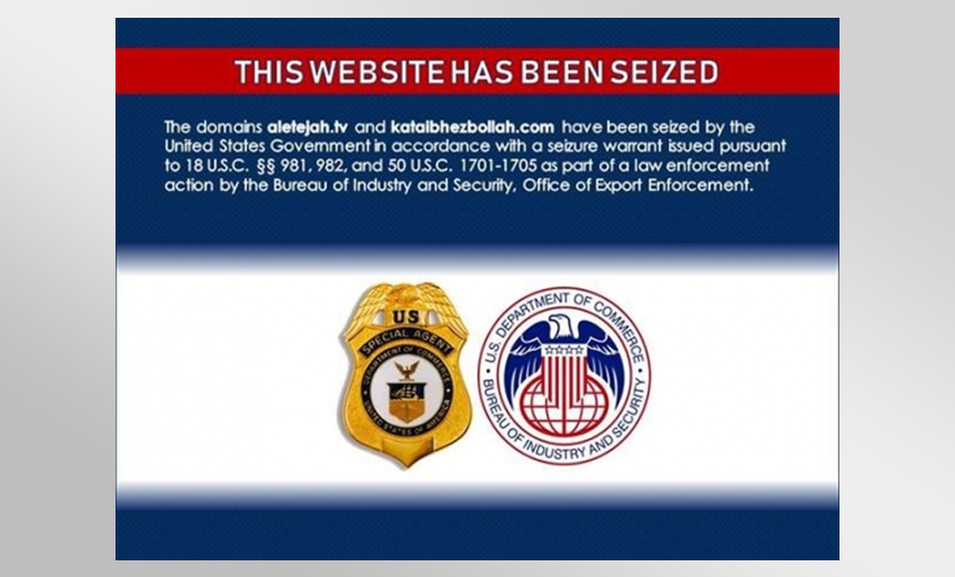 US Agencies Seize More Iranian-Linked Domains