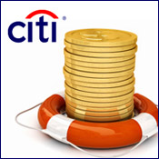 U.S. Rescues Citigroup; Three More Banks Closed