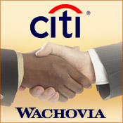 Wachovia Assets Acquired by Citigroup