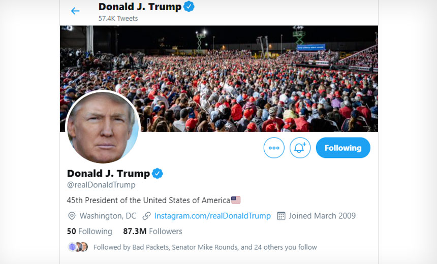 White House Denies Trump's Twitter Account Was Hacked