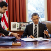 White House Rips into Law Obama Signed
