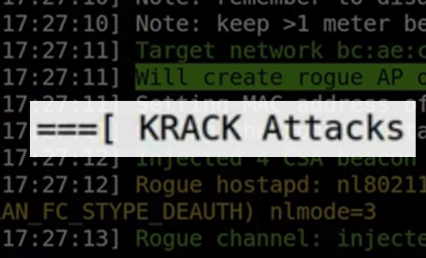 WiFi Security Shredded via KRACK Attack