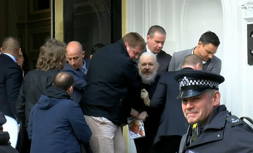 WikiLeaks' Julian Assange Arrested; US Seeks Extradition