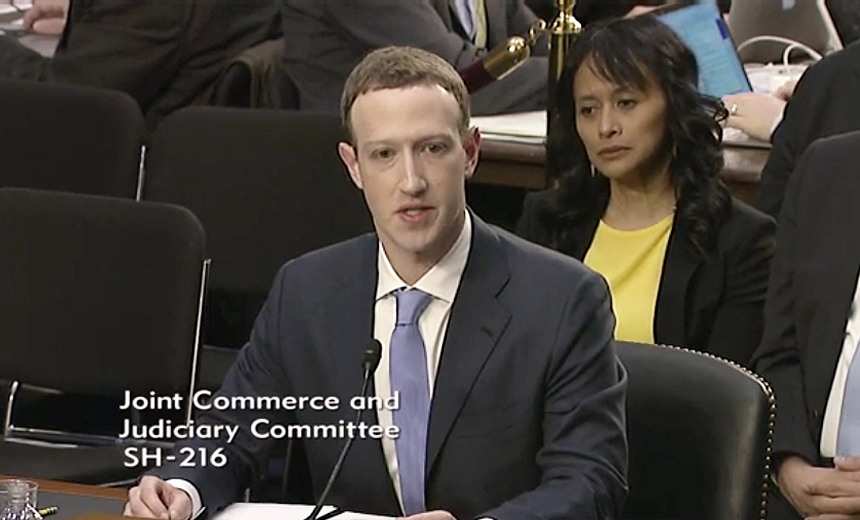 Senators Raise Issue of Regulating Facebook